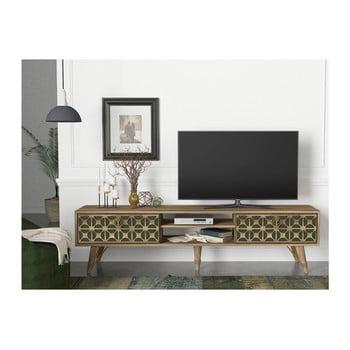 Comodă TV cu aspect de lemn de nuc Valente de la Tera Home