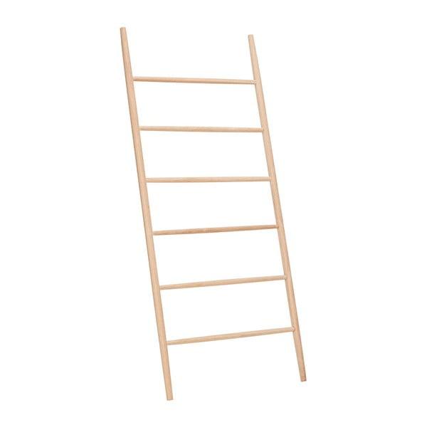 Regał z drewna dębowego Hübsch Oak Display Ladder Puro