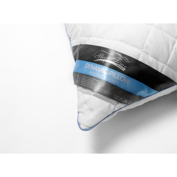 Polštář na spaní s taštičkovými kapsičkami Dreamhouse Dynamic, 60x70cm