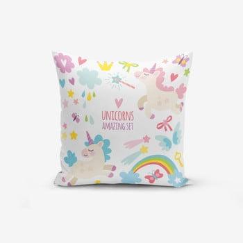 Față de pernă cu amestec din bumbac Minimalist Cushion Covers Unicorn Child, 45 x 45 cm de la Minimalist Cushion Covers