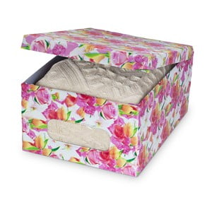 Úložná krabice s potiskem Bonita Rose