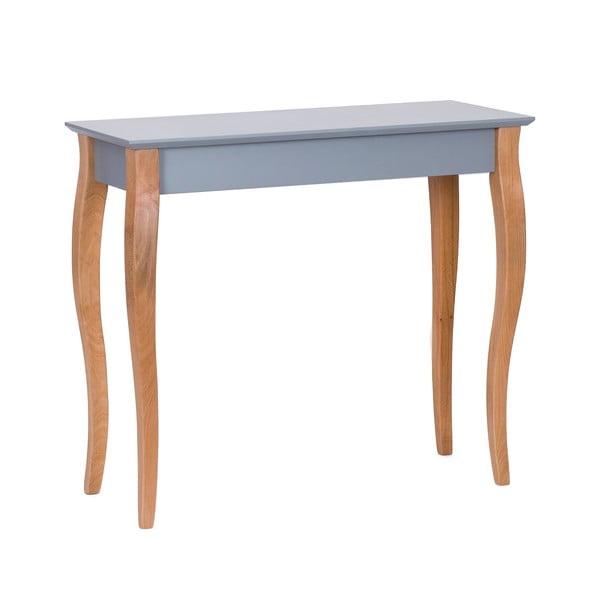 Console sötétszürke kisasztal, hossza 85 cm - Ragaba