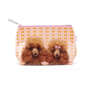 Malá kosmetická taška Poodle Love