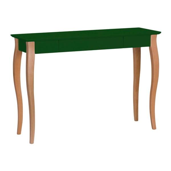 Lillo sötétzöld íróasztal, szélessége 105 cm - Ragaba