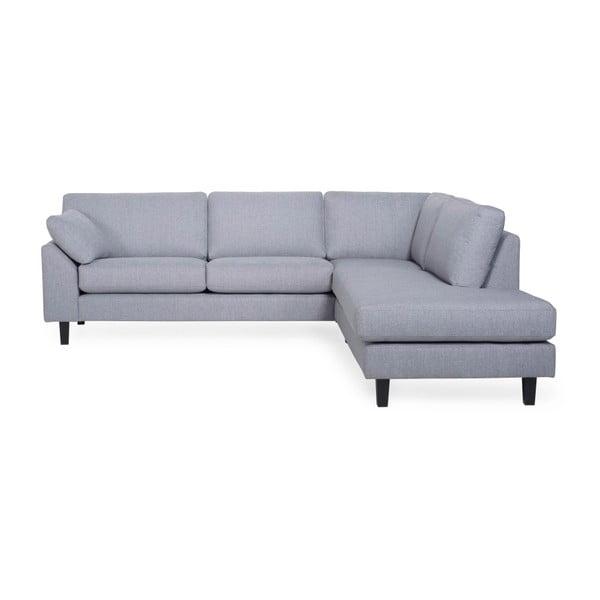 Garda világos szürke kanapé, jobb oldali kivitel - Softnord