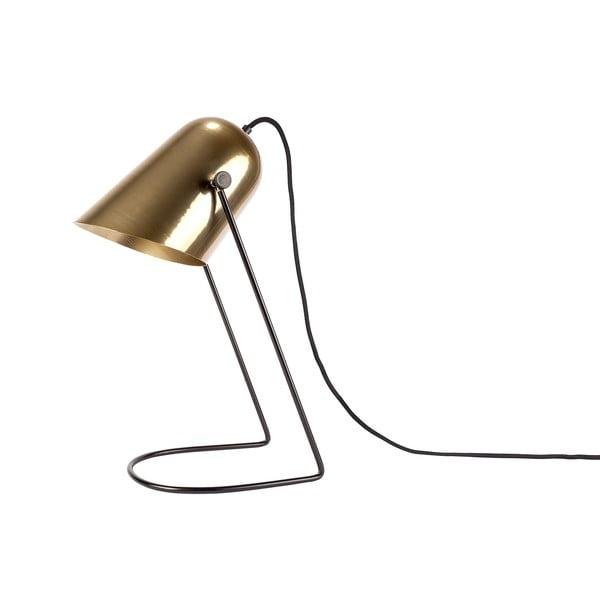 Złota lampa stołowa HF Living Ablaze