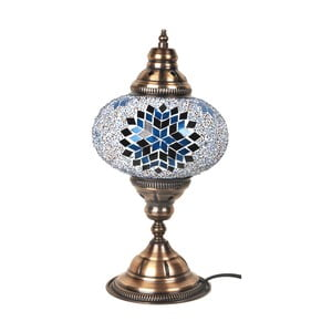 Veioză din sticlă Homemania Mosaic, ⌀ 17 cm