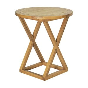 Barový stolek z dubového dřeva Artelore Ainhoa