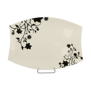 Podnos z porcelánu Duo Gift Porto, ⌀ 34,5 cm