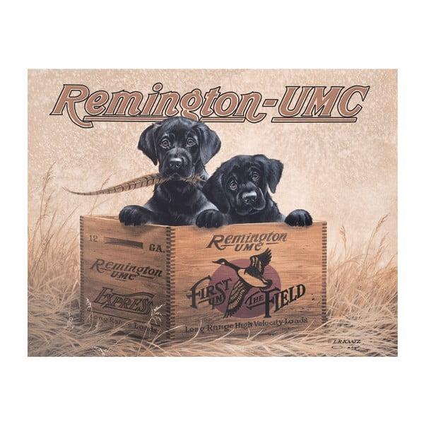 Plechová cedule Remington
