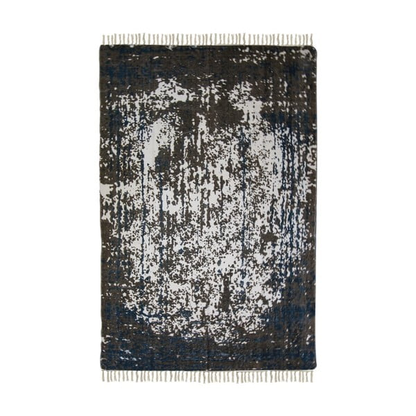 Colorful Living Crisso kék-bézs pamut szőnyeg, 120 x 180 cm - HSM collection