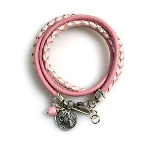 Náramek Ring, světle růžový