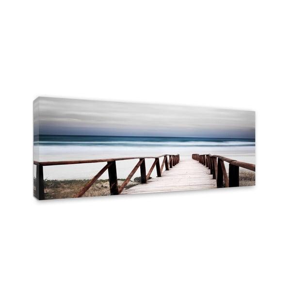 Canvas Sand Alba fali kép, 60 x 150 cm - Styler