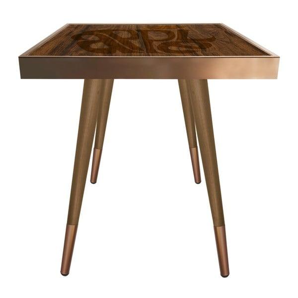 Príručný stolík Caresso Apple Square, 45 × 45 cm