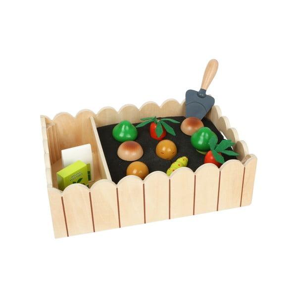 Dziecięcy drewniany zestaw małego ogrodnika Legler Vegetable