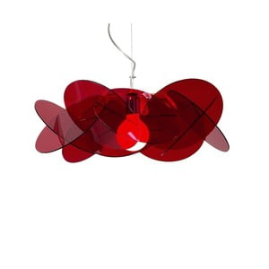 Závěsné svítidlo Bea Emporium, červené
