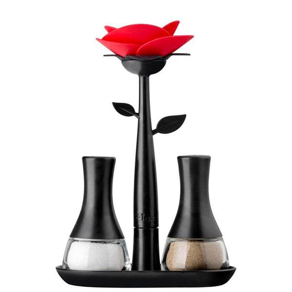 Slánka a pepřenka Vigar Black Flower