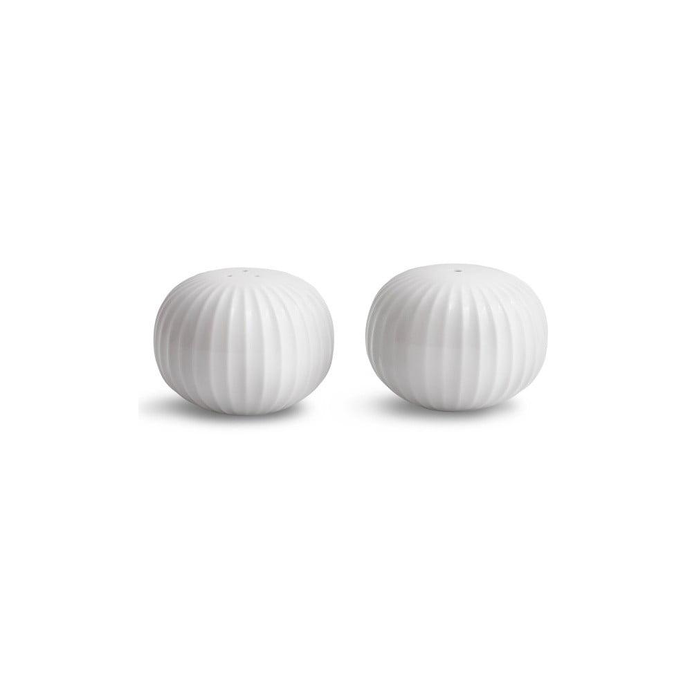 Set bílé solničky a pepřenky Kähler Design Hammershoi