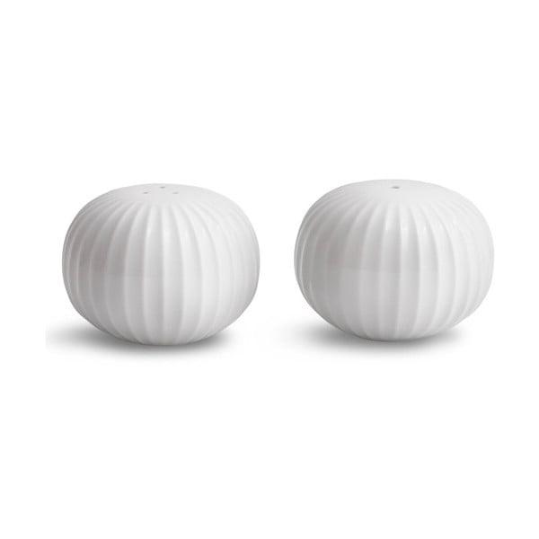 Hammershoi fehér porcelán só- és borsszóró - Kähler Design