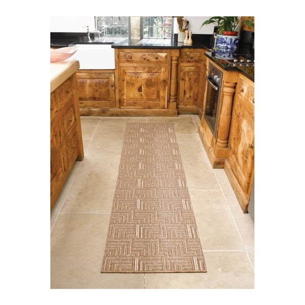 Běhoun Flair Rugs Skyline Pinnacle Sand, 67 x 300 cm