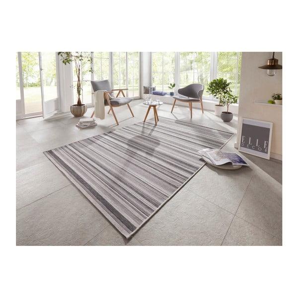 Šedý koberec vhodný i na ven Elle Decor Secret Calais, 200 x 290 cm