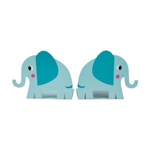 Sada 2 zarážek do knihovny Rex London Elvis the Elephant