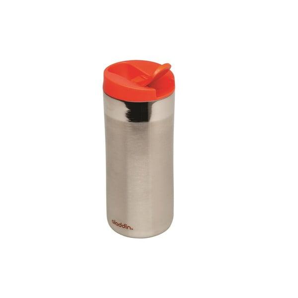 Nerezový termohrnek s červeným víčkem Aladdin Flip-Seal™,350ml