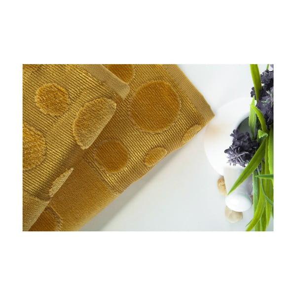 Set dvou ručníků Tropical Mustard Color, 70x140 a 50x90 cm