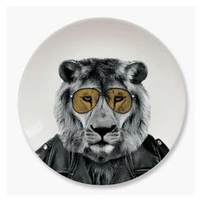 Keramický talíř Just Mustard Lion