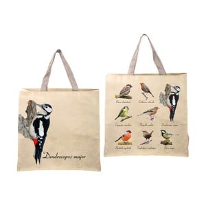 Skládací taška s potiskem ptáčků Ego Dekor Birds