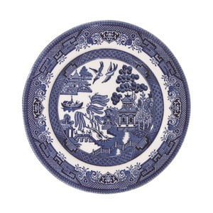 Talíř Churchill China Blu Willow, Ø 17 cm