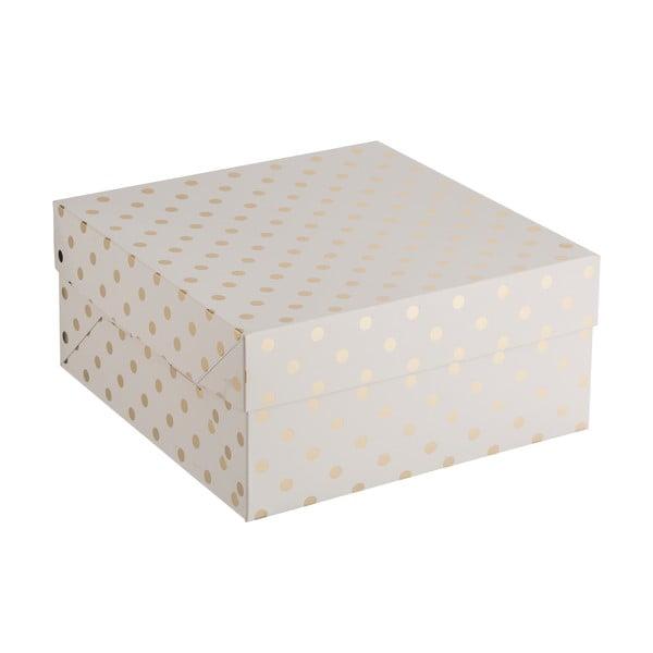 Cake pöttyös papírdoboz, 32,5 x 37 cm - Mason Cash