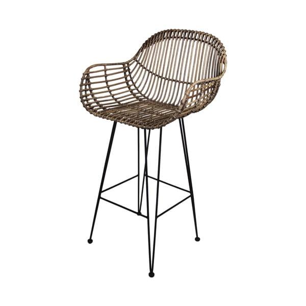 Barová židle z ratanu HSM collection