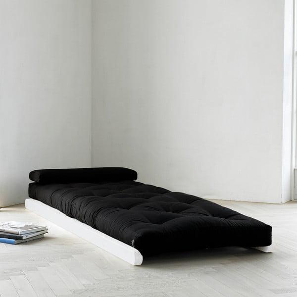 Fotoliu Karup Figo, White/Black, 70 cm