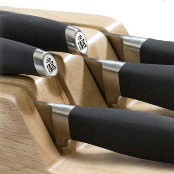 Dřevěný držák na nože do šuplíku BK Cookware Skills