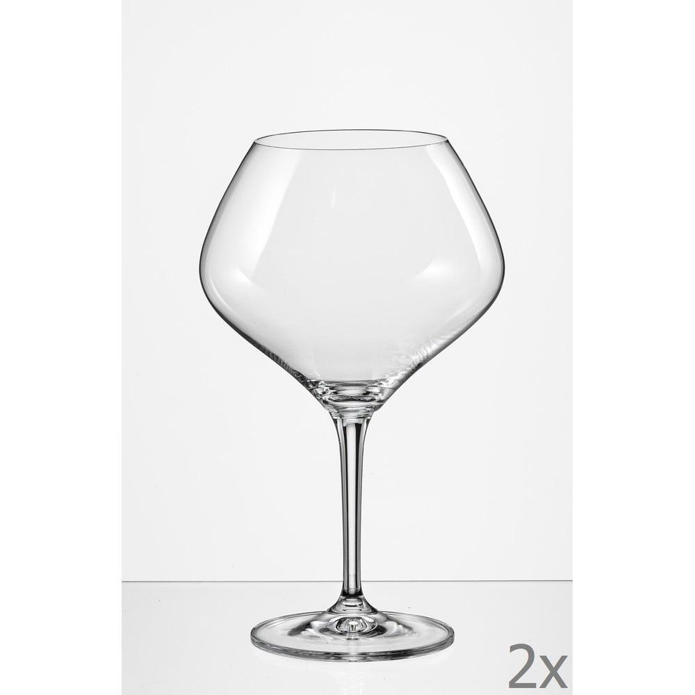 Sada 2 sklenic na víno Crystalex Amoroso, 470 ml