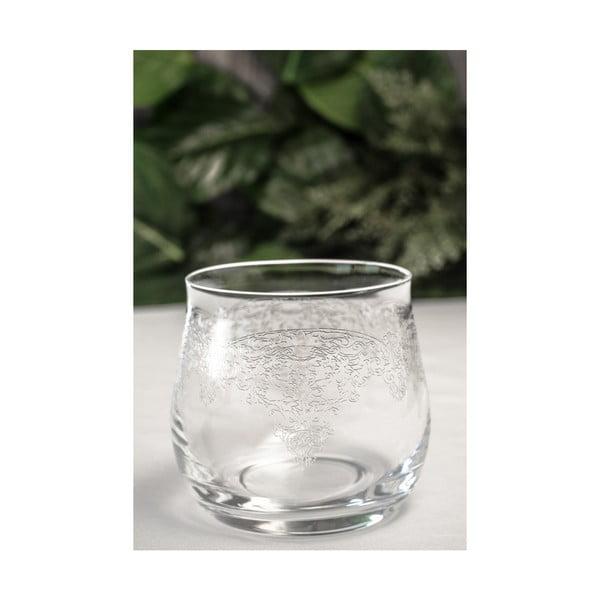 Sada 6 skleněných skleniček Alexandra
