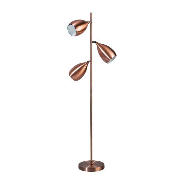 Měděná stojací lampa ETH Ajaccio Copper Kieran
