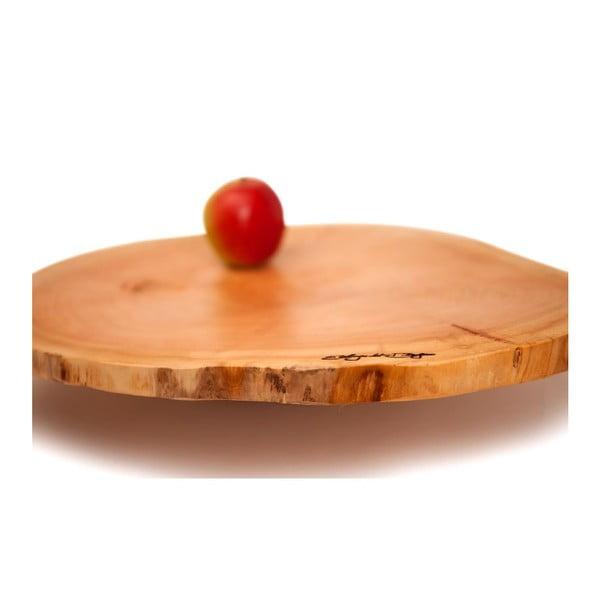 Dřevěný podnos Slice