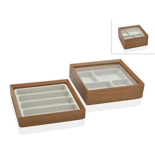 Dvojitý box na šperky Woodie