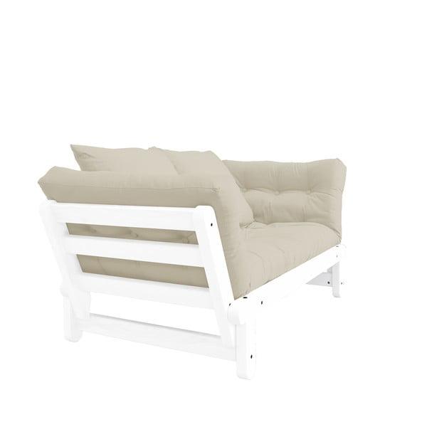 Rozkládací pohovka Karup Design Beat White/Beige