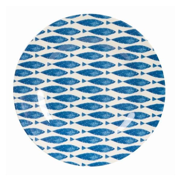 Sada 6 ks talířů Couture Fishie, 25,4 cm