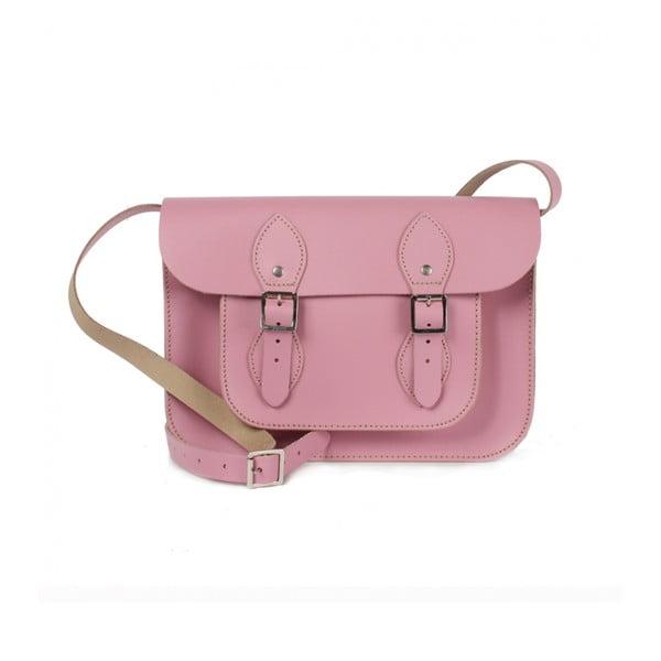 """Kabelka Satchel 11"""", Vintage Pink"""