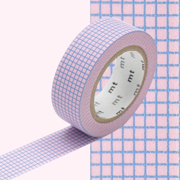 Bandă decorativă Washi MT Masking Tape Rochelle, rolă 10 m