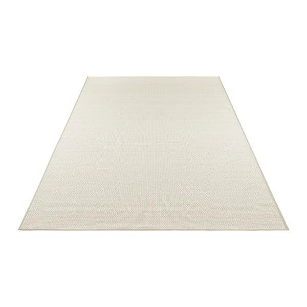 Krémovobéžový koberec vhodný i na ven Elle Decor Secret Millau, 140 x 200 cm