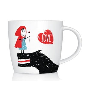 Porcelánový hrnek We Love Home Little Red Love, 300 ml