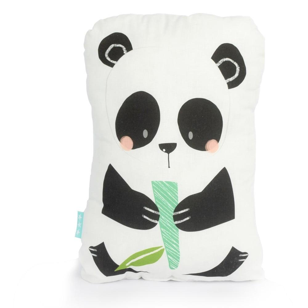 Bavlněný dětský polštářek Moshi Moshi Panda Gardens, 40 x 30 cm
