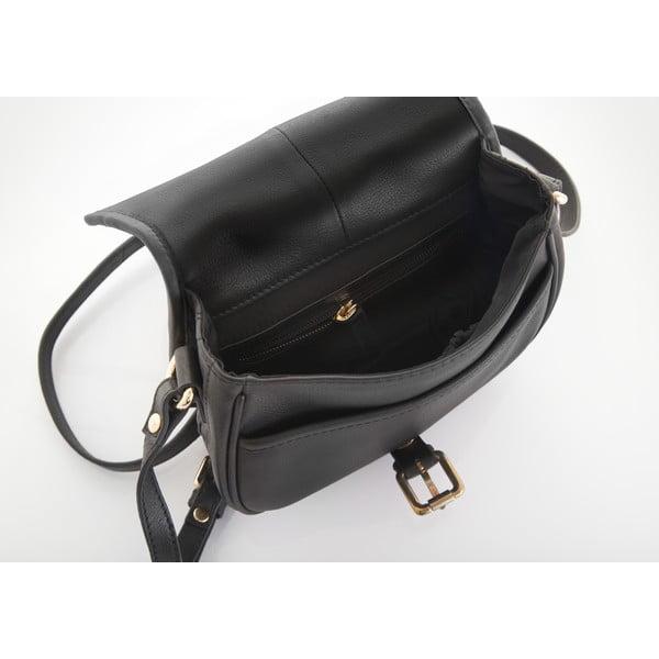 Kožená kabelka Valentini 503, černá