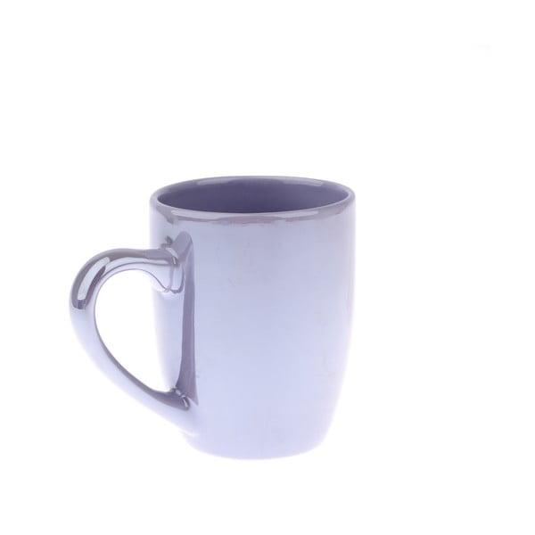 Cană din ceramică Dakls Puro, 330 ml, albastru