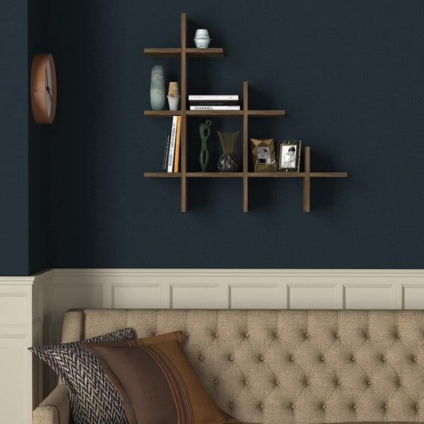 Półka w dekorze drewna orzecha Juke